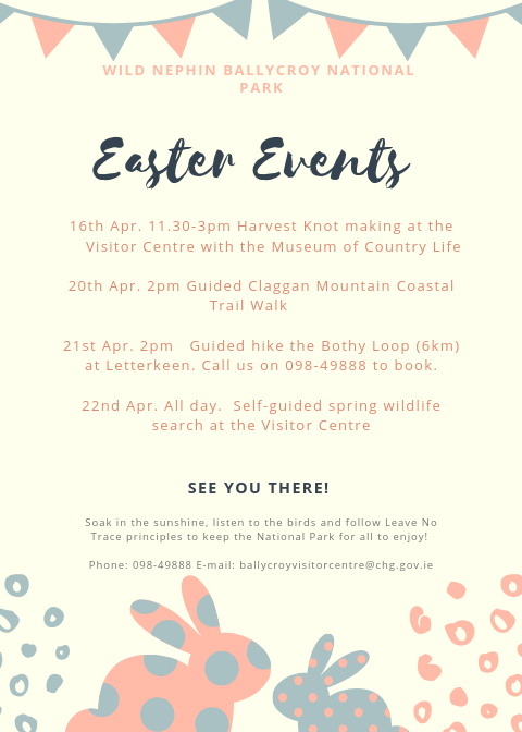 Easter Events Near Me 2020.Easter Events 2019 Wild Nephin Ballycroy National Park